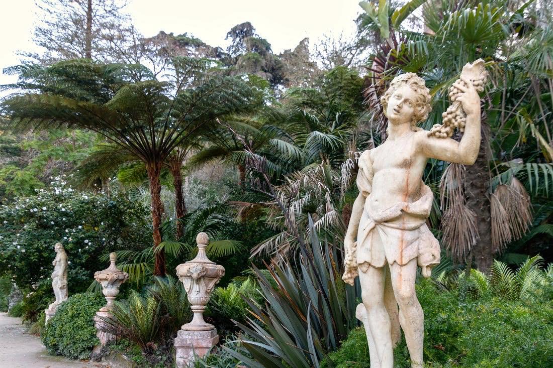 Sintra Quinta da Regaleira Garten