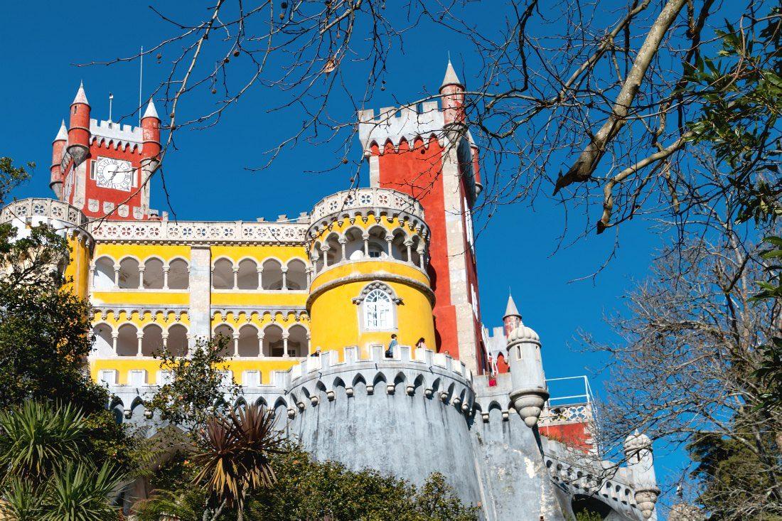 Sintra Tagesausflug ab Lissabon Pena Palast