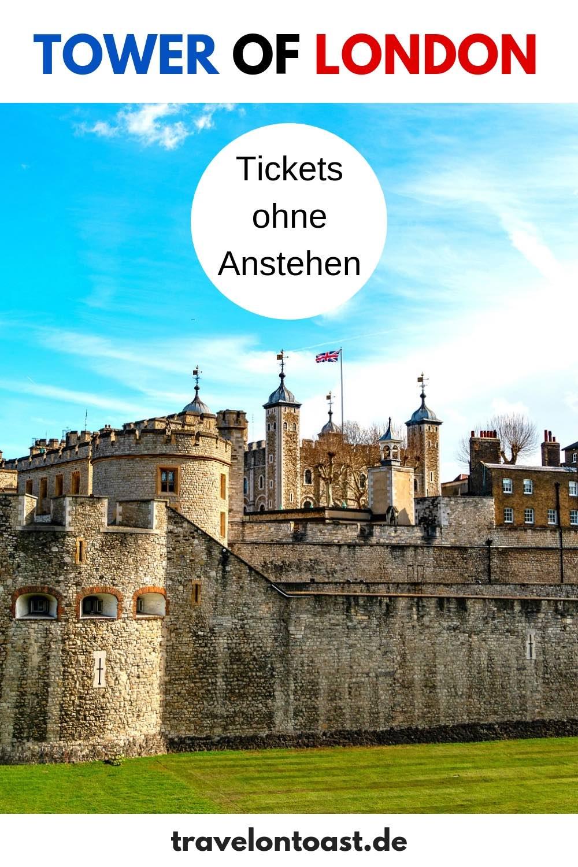 Tower of London: Tickets ohne Warteschlange zu Burg, Kronjuwelen und Raben. So bekommst du Einlass ohne Warten. Die besten London Reise Tipps und London Foto Ideen für eine der beliebtesten London Sehenswürdigkeiten. #TowerofLondon #Tower #London #England
