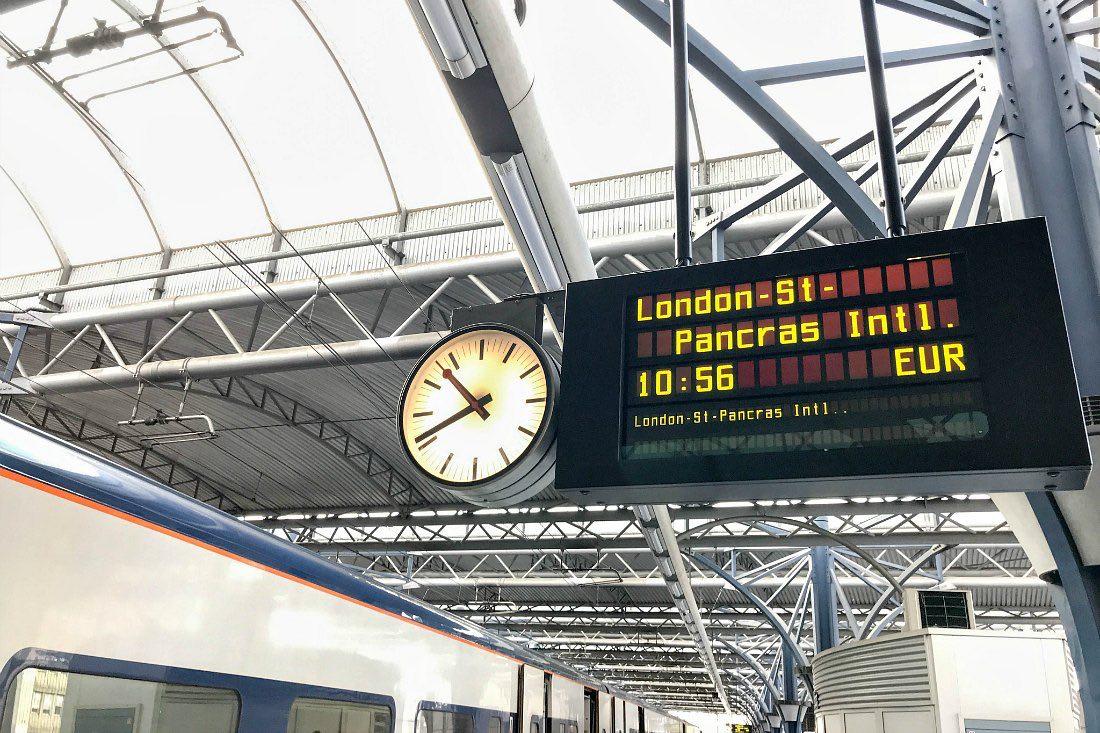 London Reise per Eurostar