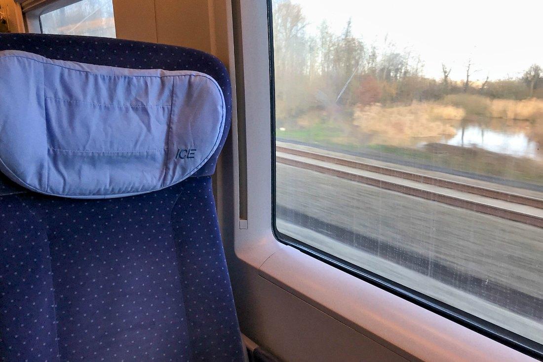 London Reise per Zug