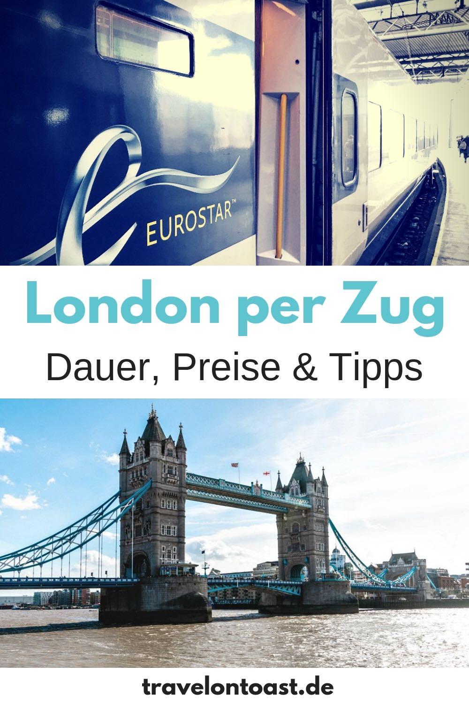 London Reise per Zug: Über Aachen und Brüssel bin ich u. a. mit dem Eurostar nach London gefahren. Dauer der Zugreise, Preise und Zugreisen Tipps - dazu findet ihr mehr im Reiseblog. #London #Zugreisen #Eurostar