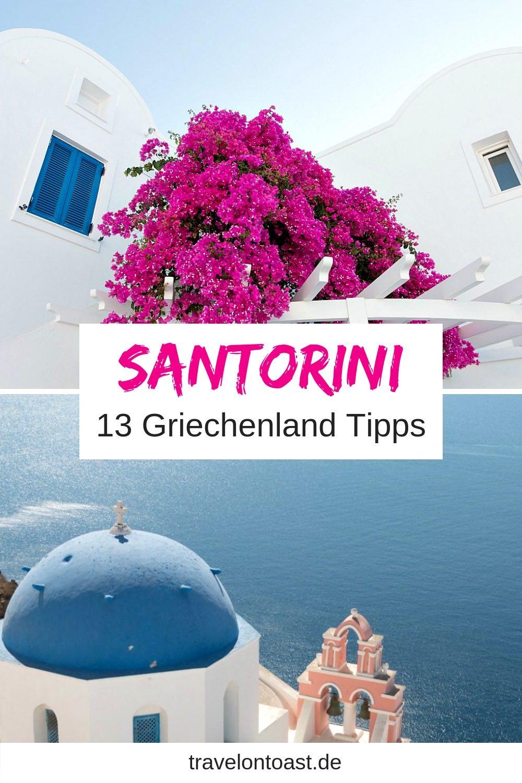 Griechische Inseln - Santorini ist eine der schönsten! Im Artikel findest du die besten Tipps für Santorini Griechenland. Plus Bilder Ideen fürs Fotoshooting auf Santorin, Kykladen. #Santorini #Urlaub #Reisen