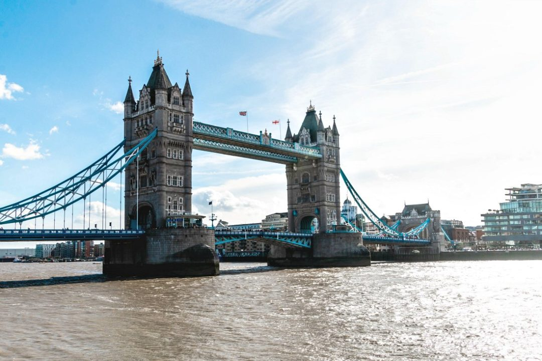 London Reise per Zug