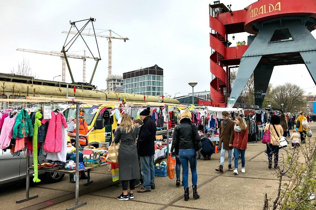 Trödelmarkt in Amsterdam
