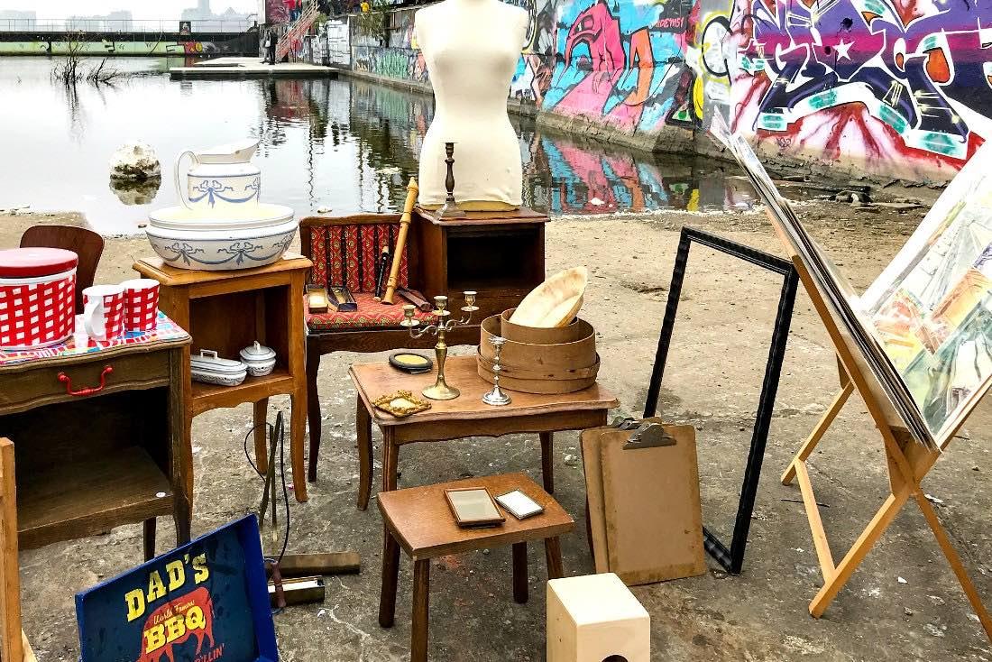 Flohmarkt in Amsterdam