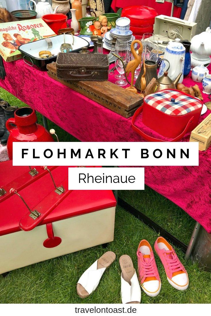 Flohmärkte Deutschland: Der Flohmarkt Bonn Rheinaue ist ein wunderschöner Trödelmarkt NRW. Im Artikel findest du tolle Flohmarkt bzw. Bonn Tipps, mit vielen Fotos. Alles für deinen NRW Ausflug! #Flohmarkt #Bonn #Rheinaue #NRW