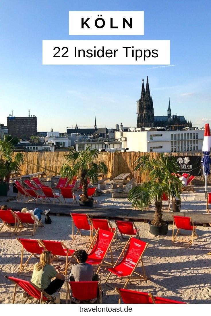 Hol dir die 22 Köln Tipps einer Einheimischen für deinen Städtetrip oder Kurztrip Deutschland! Echte Geheimtipps zu Hotels, Stadtteilen, Sehenswürdigkeiten, Shopping und Essen. Restaurants oder Cafes fürs Frühstück, auch für Vegetarier und Veganer. #Köln #NRW #Deutschland #Urlaub #Reisen