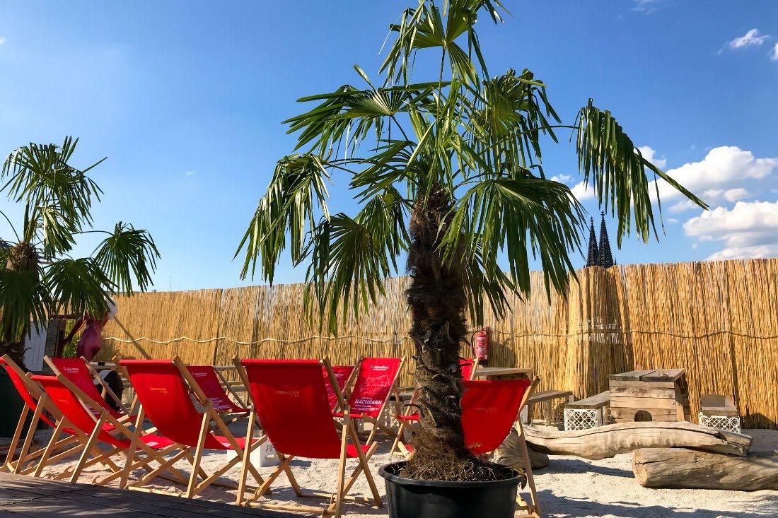 Köln Insider Tipps: Beachbar Sonnenscheinetage