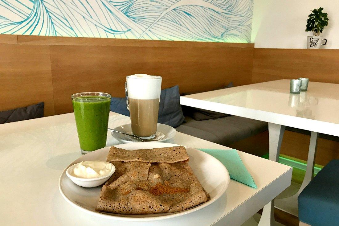 Kolberg Tipps Essen Cafe Frühstück Kaffee und Kuchen