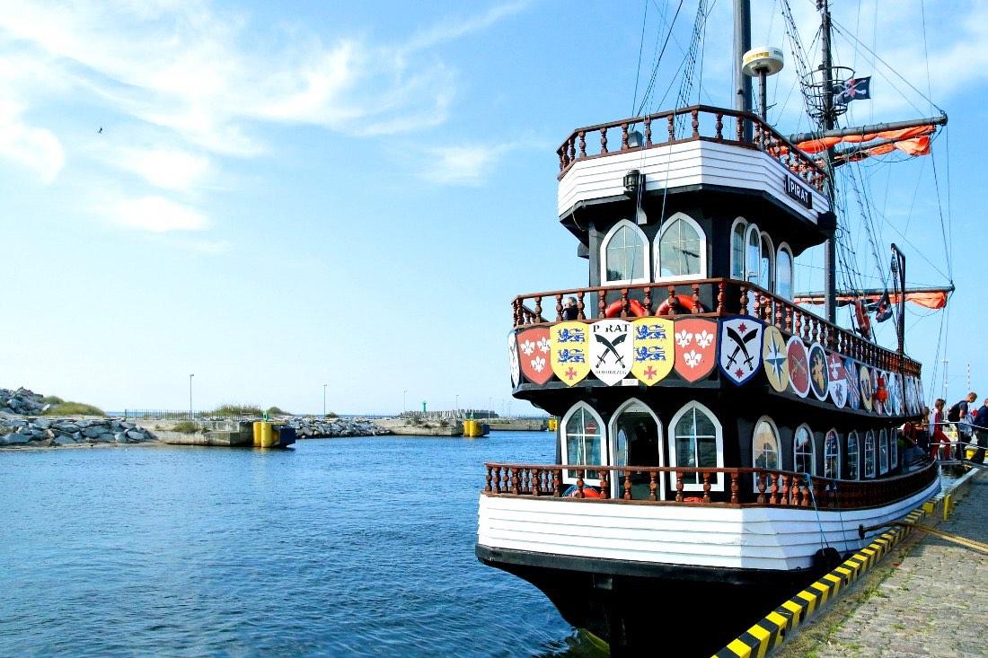 Kolberg Tipps Sehenswürdigkeiten Piratenschiff