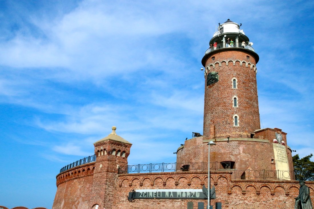 Leuchtturm in Kolberg Polen