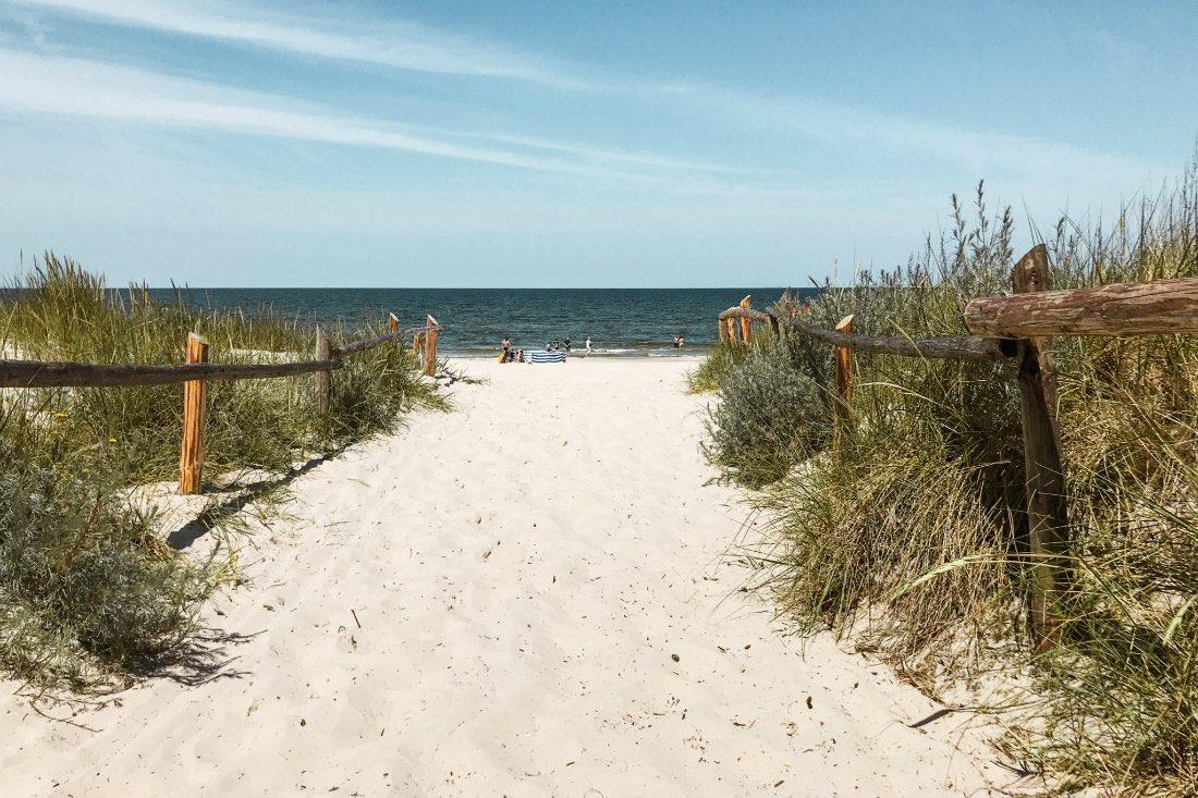 Polnische Ostsee Urlaub Kolberg Grzybowo