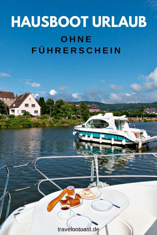 (Werbung) Ein Hausboot mieten und drei Tage lang gemütlich auf den Kanälen in Frankreich herumschippern - das erlebten wir. Hol dir die besten Tipps von unserem ersten Hausboot Urlaub. Damit deine Bootsferien ebenfalls reibungslos gelingen! #Hausboot #Frankreich #Elsass