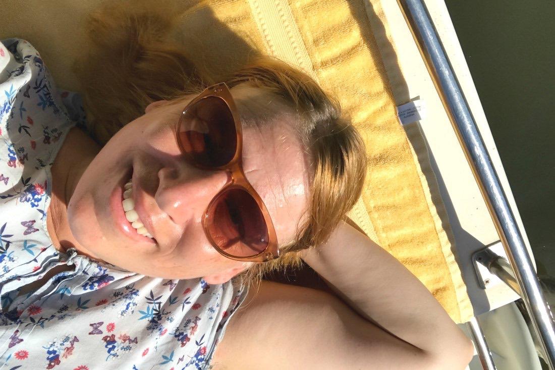 Sommer auf dem Hausboot