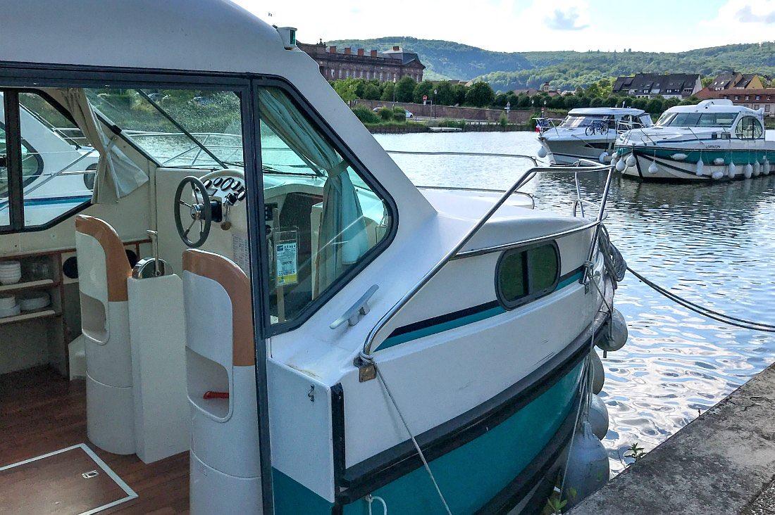 Hausboot von außen
