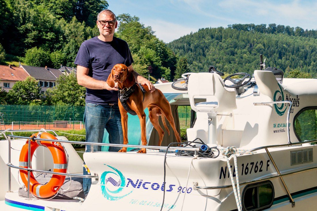 Hausboot Urlaub mit Hund