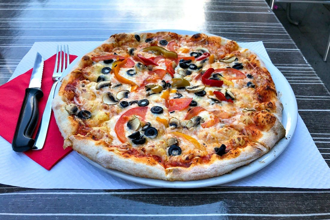 Pizza in Saverne