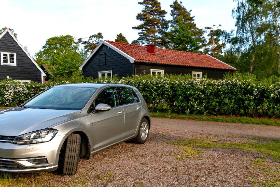 Im Mietwagen durch Schweden