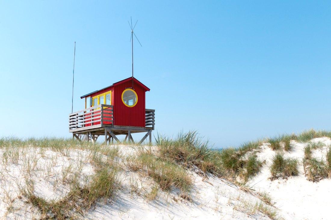 Strandhütte in Skane
