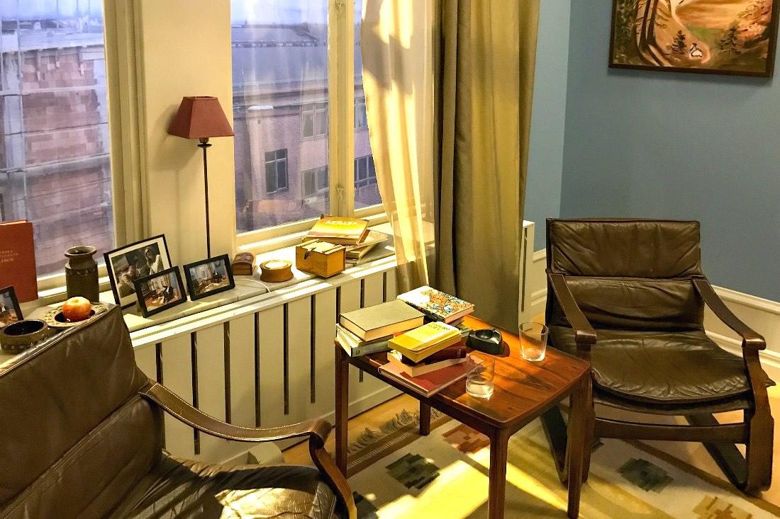 Wallanders Wohnzimmer