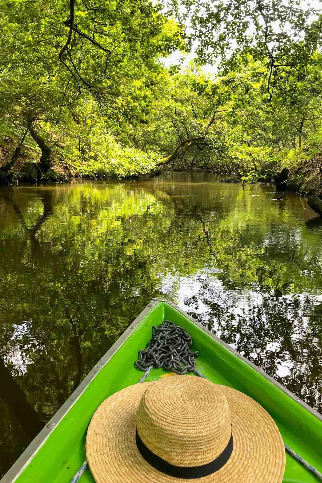 Flusstour auf dem Huchet