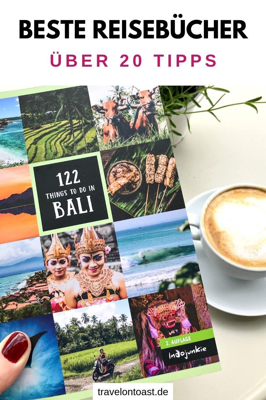 Reisebücher: Hol dir die über 20 Buchempfehlungen zu Urlaub und Reisen! Tipps für die schönsten Reiseführer, Romane oder zum Reisebuch gestalten - ob zum Lesen oder als Geschenk für Freunde. #Reisebuch #Buch #Urlaub #Reisen