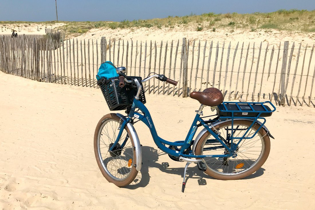 Fahrradtour zum Strand