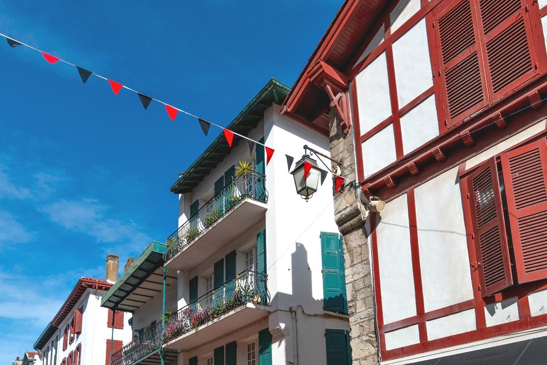Baskische Häuser