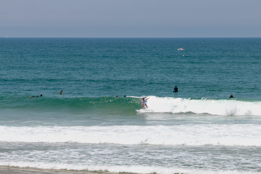 Surfer Atlantikküste Frankreich