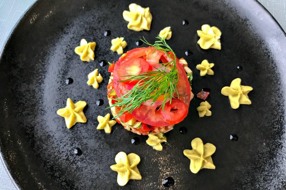 Vegetarisches Essen in Frankreich