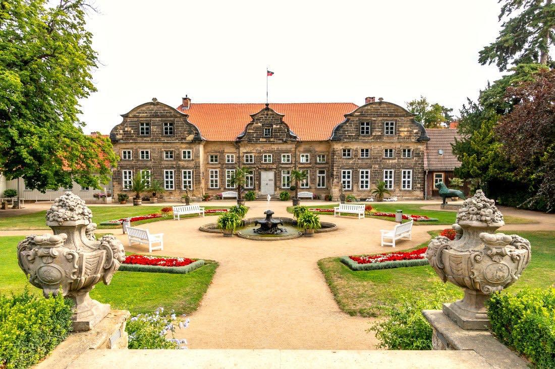 Schlossgärten in Blankenburg