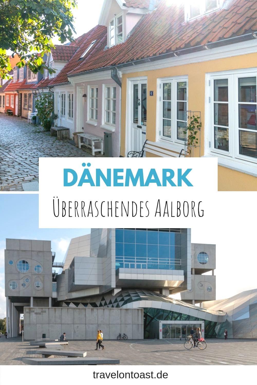 (Werbung) Ein echter Geheimtipp für deinen Dänemark Urlaub oder Städtetrip Europa: Aalborg in Nordjütland. Dich erwarten Wikinger, bunte Häuser, moderne Architektur, eine Sauna am Fjord und Zimtschnecken. Hol dir die besten Tipps für Aalborg: etwa zu Hotel, Sehenswürdigkeiten, Hafen, Altstadt, Shopping, Cafes und Restaurants. #Urlaub #Reisen