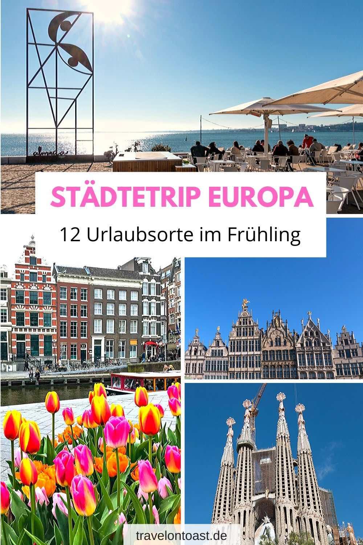 Wohin soll deine Städtereise für den Urlaub im Frühling gehen? Im Reiseblog findest du Reiseziele und Reise Inspiration für deinen Städtetrip Europa. / Urlaub Frühling / Städtetrip Deutschland / Städtetrip / Städtereisen / Städtereisen Europa / Urlaubsorte / Urlaubsziele #Reisen #Urlaub