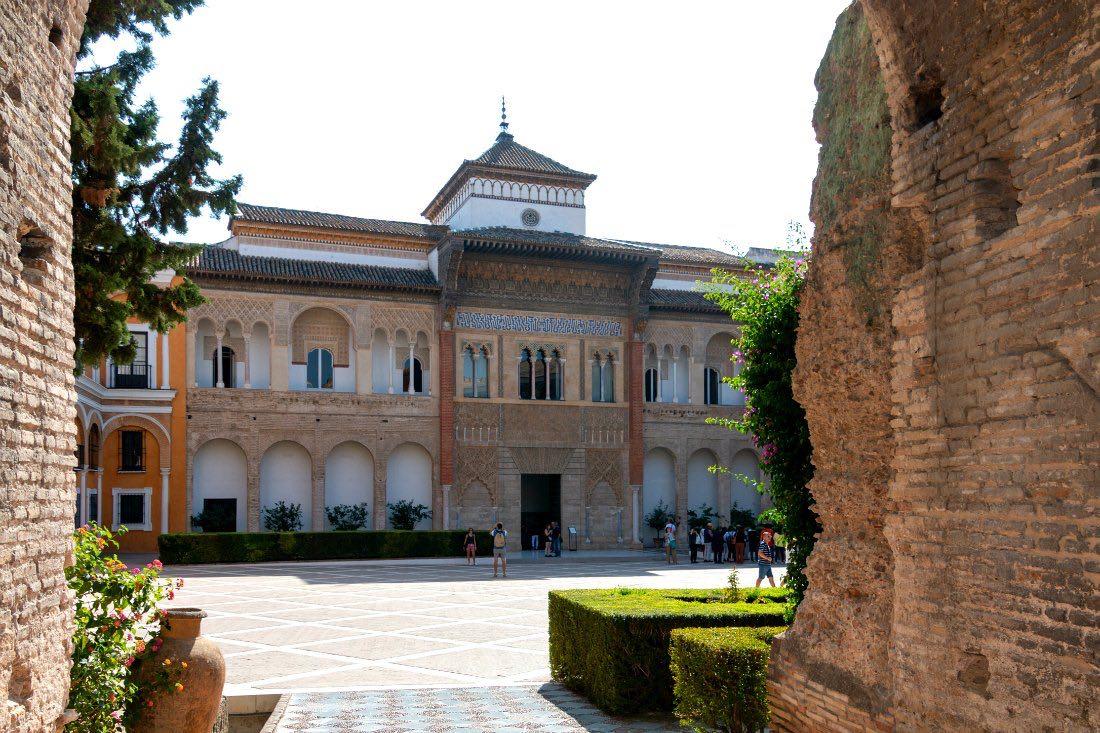 Königspalast in Sevilla Andalusien