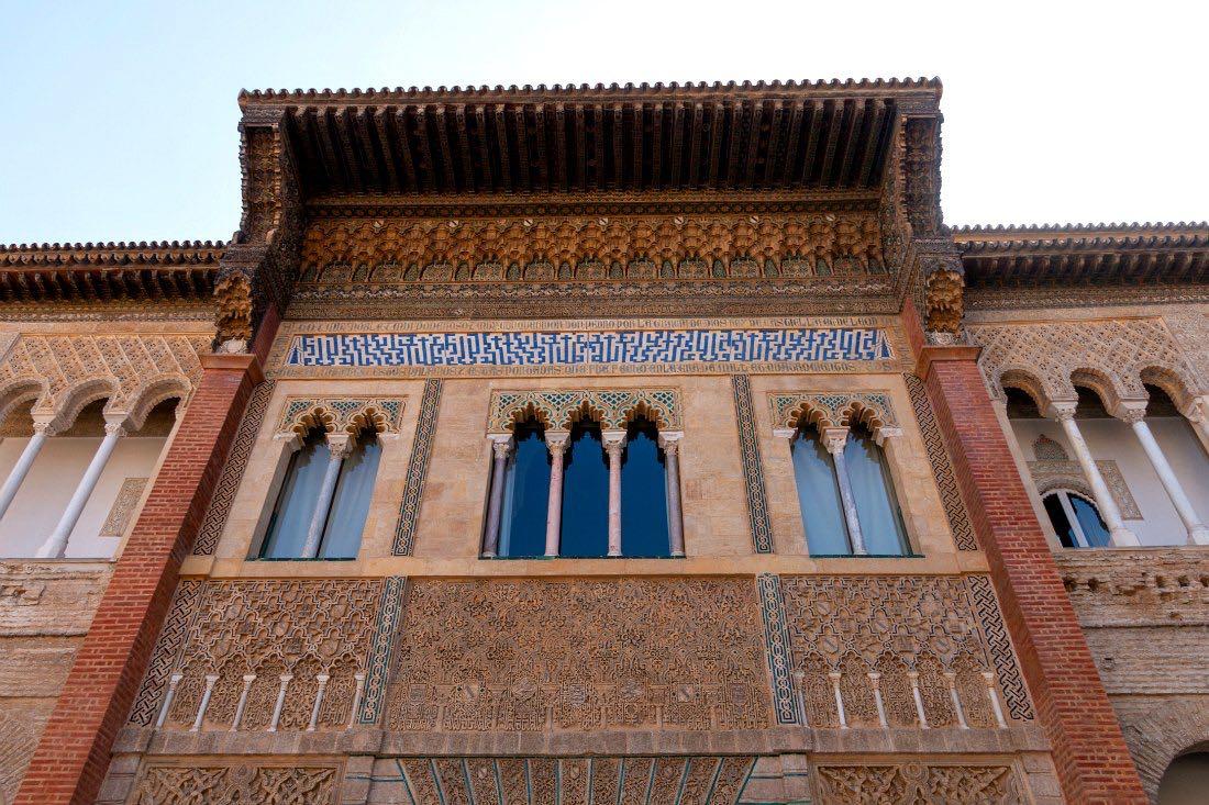 Maurischer Palast in Sevilla