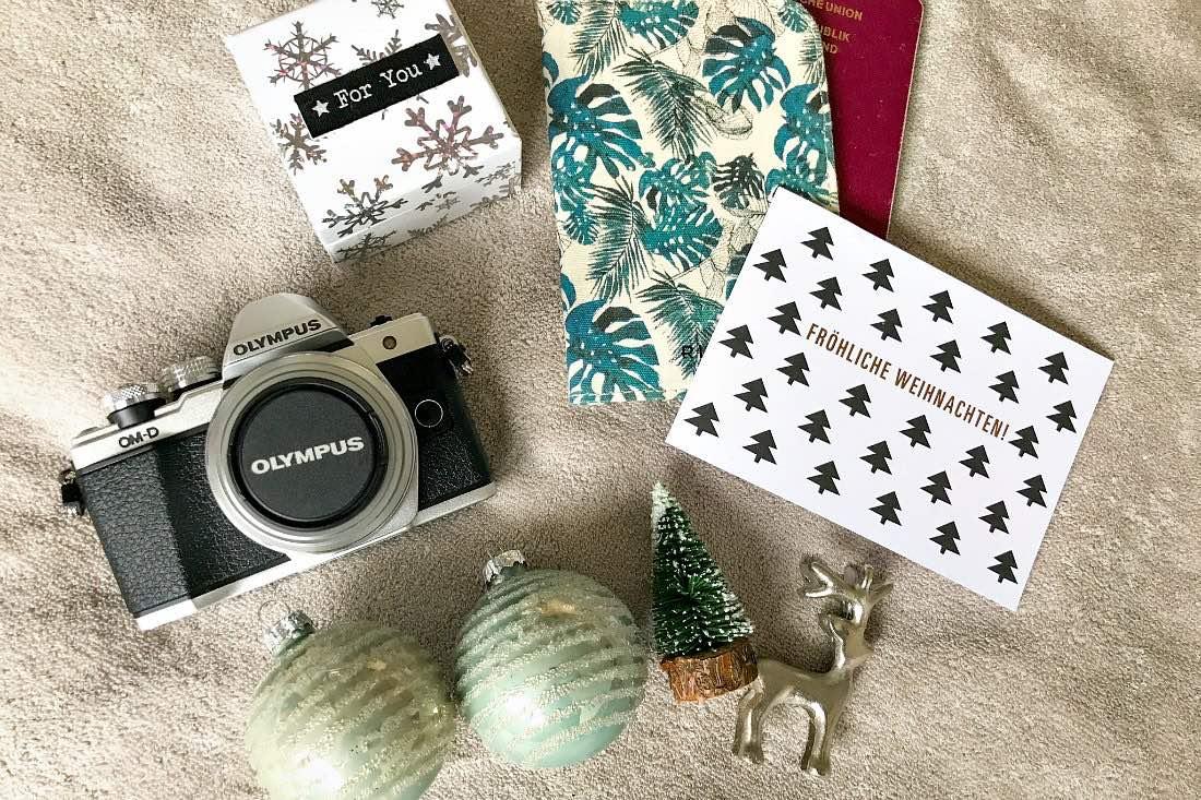 Geschenke für Reisende Weihnachten