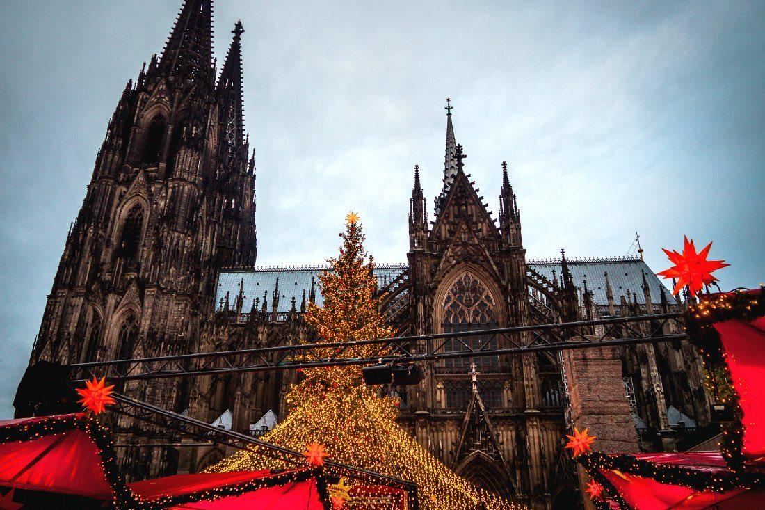 Köln Weihnachtsmarkt Kölner Dom