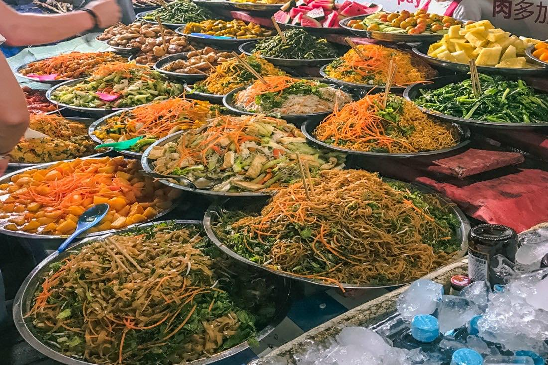 Luang Prabang Laos vegetarisch vegan reisen