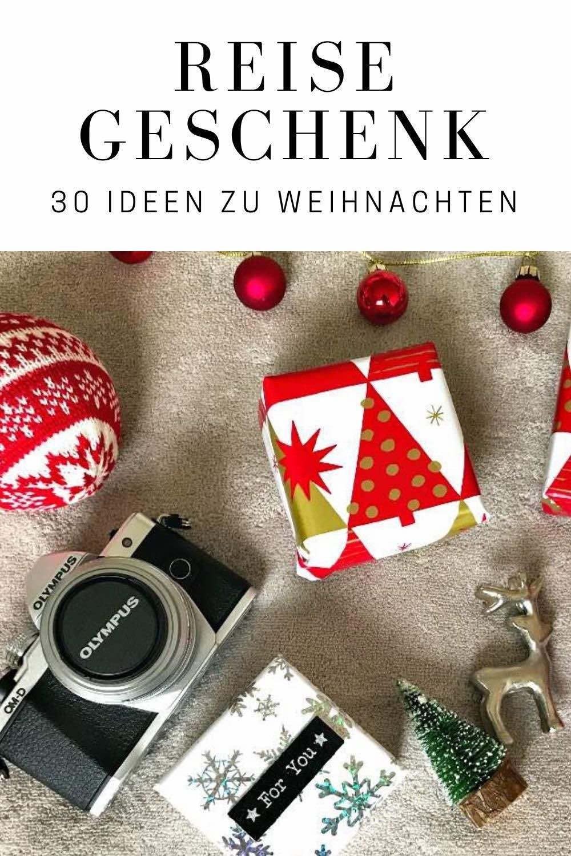 Suchst du ein tolles Reise Geschenk? Hol dir 30 Geschenkideen für jedes Budget und jeden Anlass: ob Geburtstag, Weihnachten oder Abschied. Ob Koffer für deinen Freund bzw. Mann, Fotogeschenke oder Gutschein für deine beste Freundin. #urlaub #reisen #reisegeschenk #geschenkidee #weihnachten #geburtstag