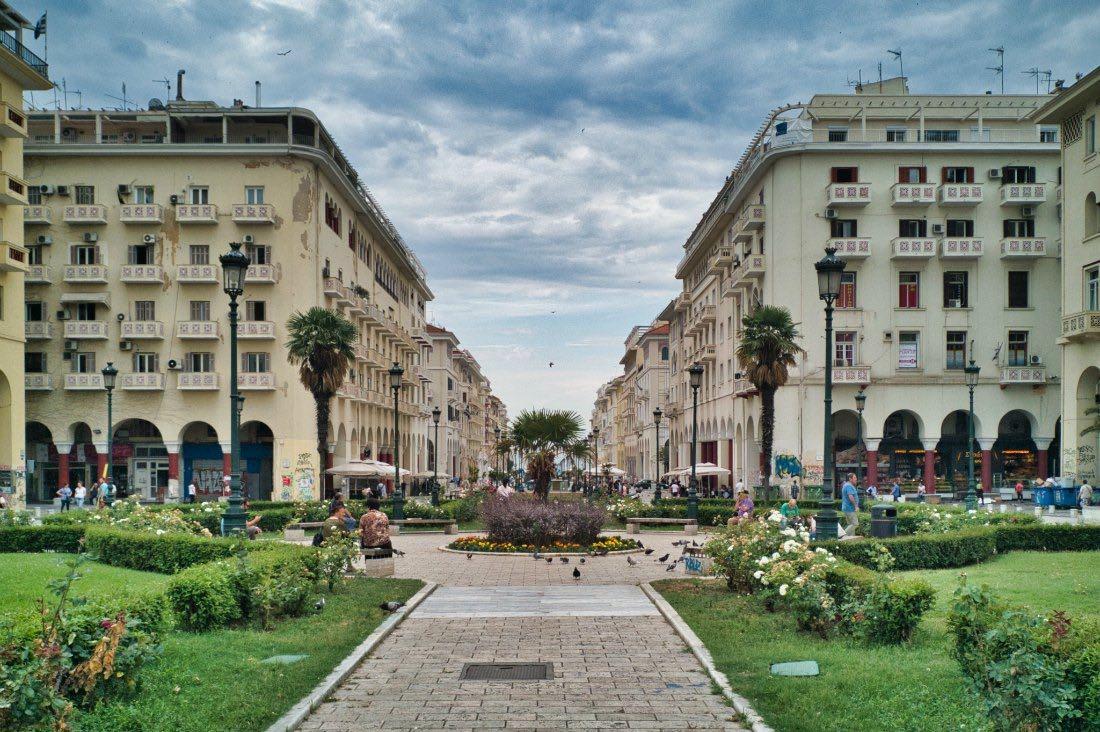 Urlaub für Veganer in Thessaloniki Griechenland