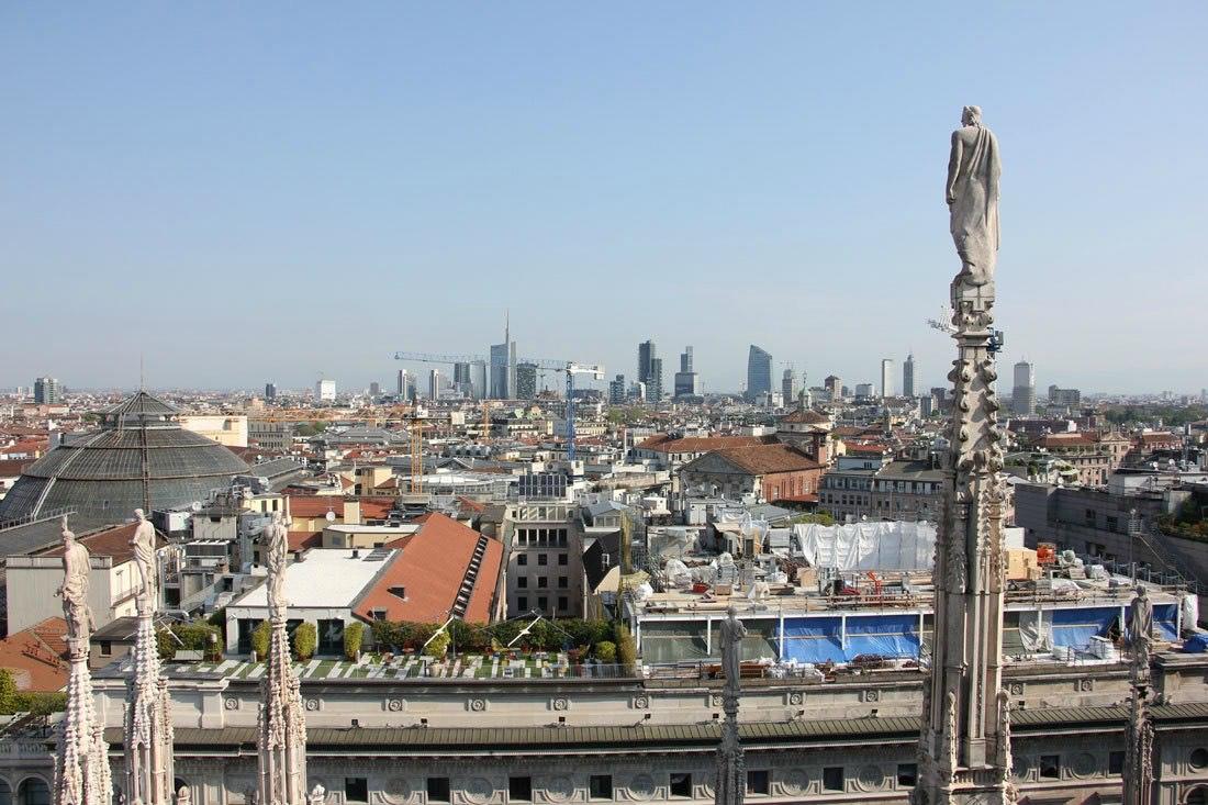 Vegan reisen nach Mailand Italien