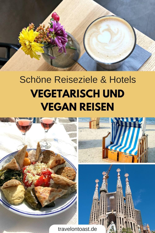 Hol dir Tipps von 8 Bloggern zu vegetarisch und vegan reisen. Geniale Reiseziele, Hotels, Cafes und Restaurants im Urlaub - für Vegetarier und Veganer. Ob Deutschland, Europa oder weltweit. Ob Kurztrip, Städtetrip oder Strandurlaub. #Urlaub #Reisen #vegetarisch #vegan #Vegetarier #Veganer