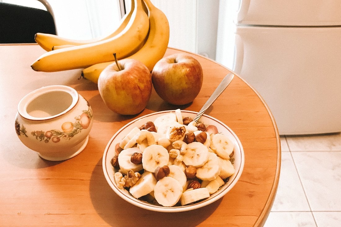 Polen vegan Frühstück