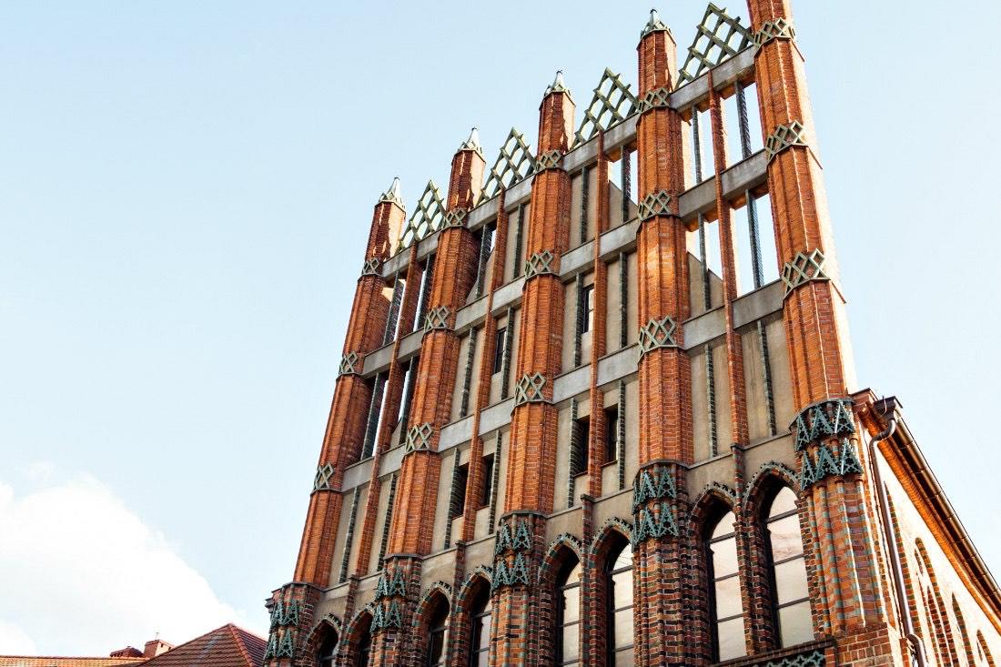 Altes Rathaus in Stettin