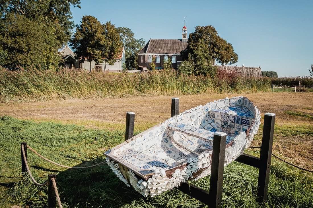 Schokland UNESCO Weltkulturerbe in Flevoland