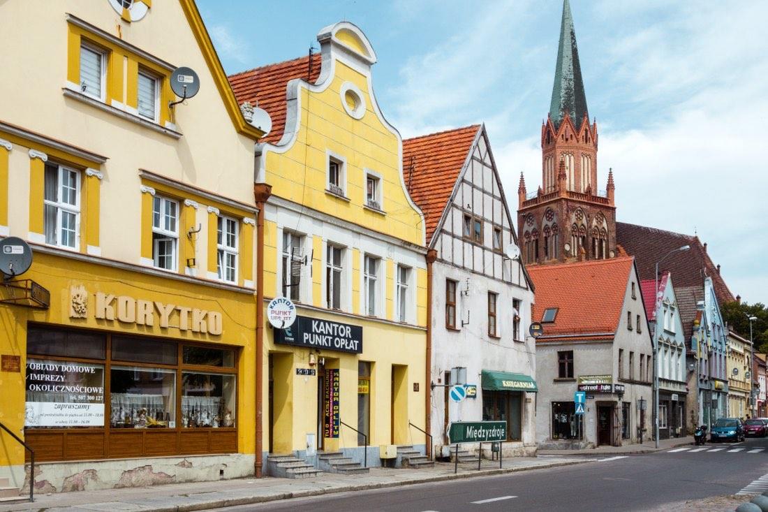Ausflugsziele ab Kolberg Treptow Trzebiatow in Polen