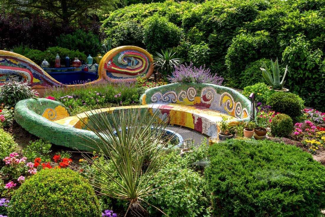 Ausflugsziele ab Kolberg Gaudi Garten im Ogrody Tematyczne Hortulus