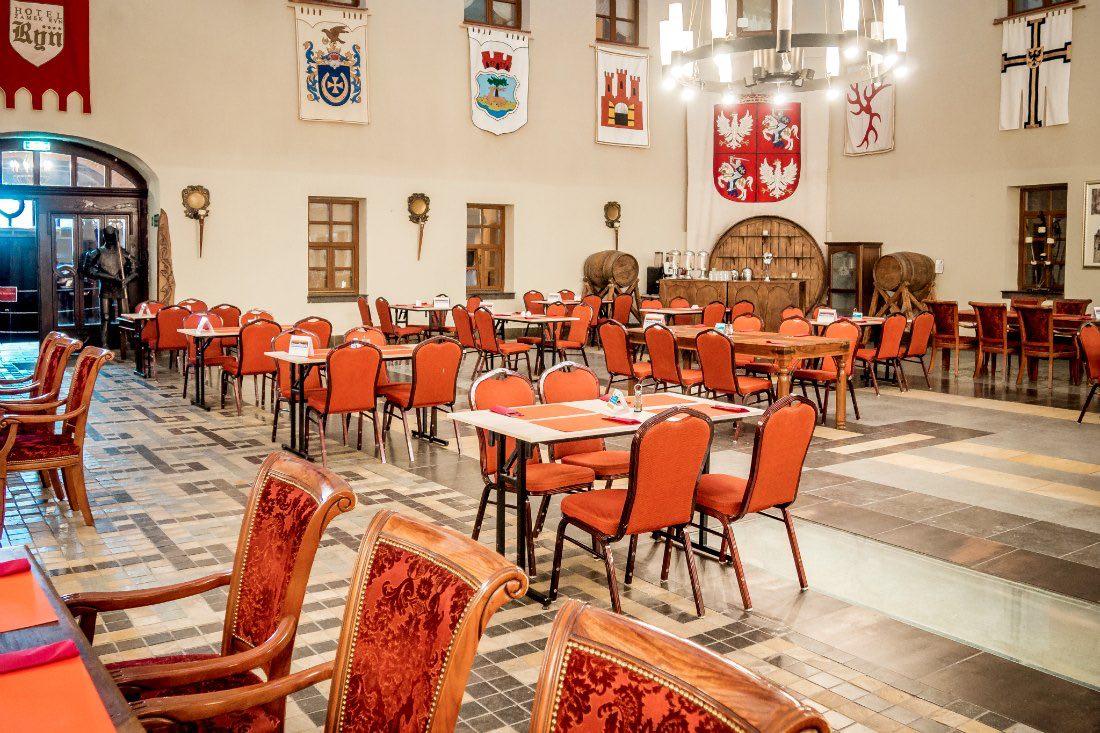 Hotel Zamek Ryn Burg Rittersaal