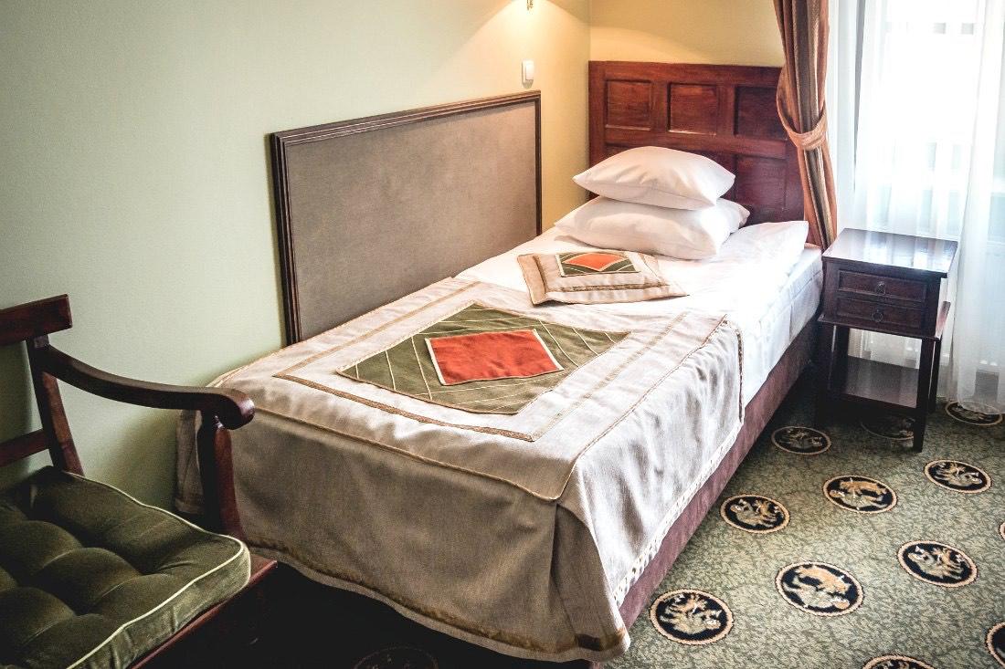 Hotel Zamek Ryn Burg Zimmer